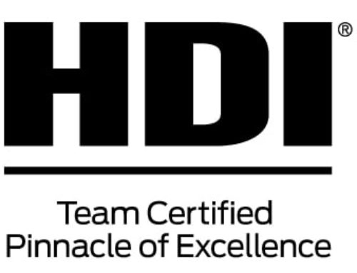 Buchanan Service Desk Awarded 2017 HDI Certified Pinnacle of Excellence