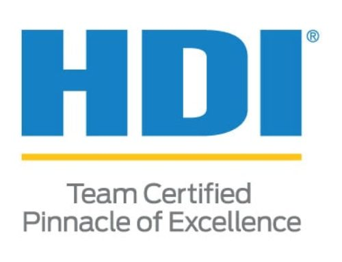 Buchanan Awarded 2018 HDI Team Certified Pinnacle of Excellence for 2nd Year