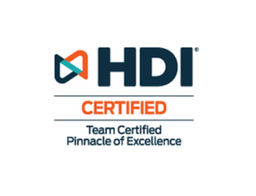 Buchanan Technologies Receives 2021 HDI Team Certified Pinnacle of Excellence Award